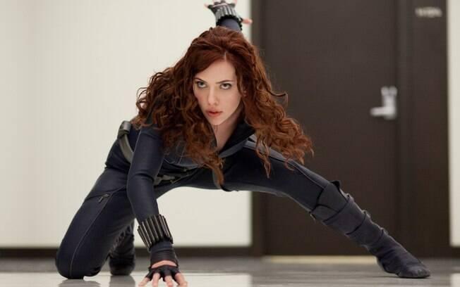 Viúva Negra, interpretada por Scarlett johansson
