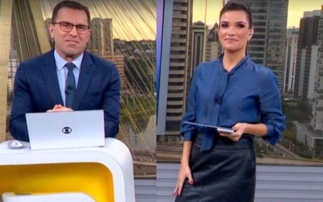 Rodrigo Bocardi falou do casamento de Sabina Simonato ao vivo