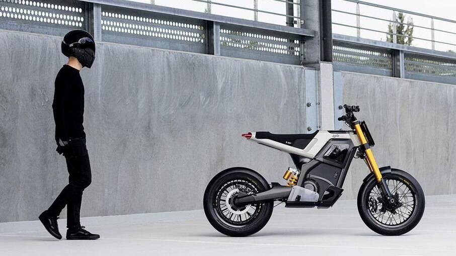 DAB Concept-E é um conceito da primeira moto elétrica que deverá entrar no portfólio da empresa francesa