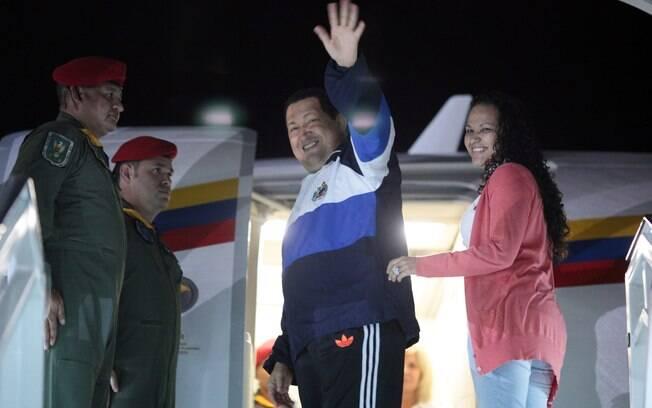 Em abril de 2012, Chávez parte novamente para Cuba ao lado da filha Rosa Virgínia