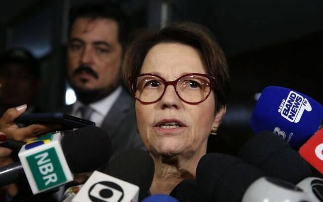 Tereza Cristina promete um Ministério da Agricultura 'mais moderno' e pautado na defesa da propriedade