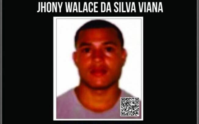 Cartaz de recompensa do líder do tráfico de drogas na Rocinha Johny Bravo