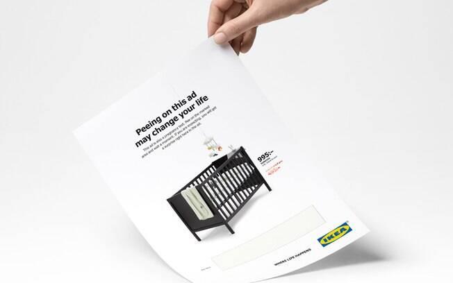 Publicado na revista Amelia, anúncio da Ikea foi desenvolvido pela agência sueca Åkestam Holst