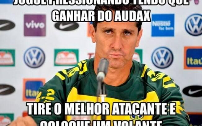 Mal chegou ao Flamengo e Jorginho já é vítima  de piadas
