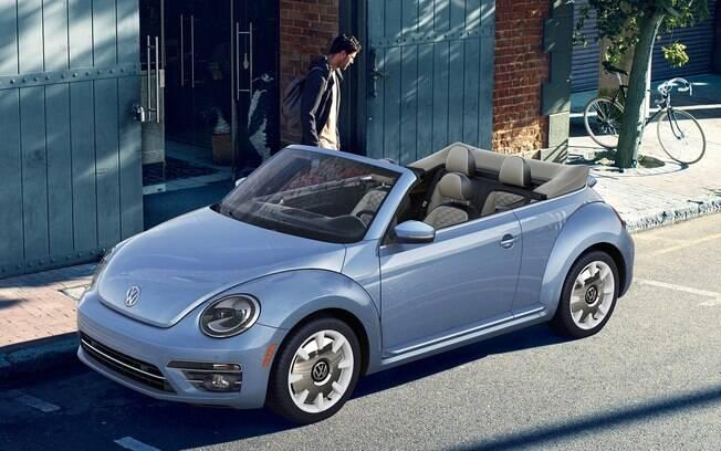 VW Fusca Cabriolet, uma das últimas unidades produzidas da nova geração. Foto: Divulgação