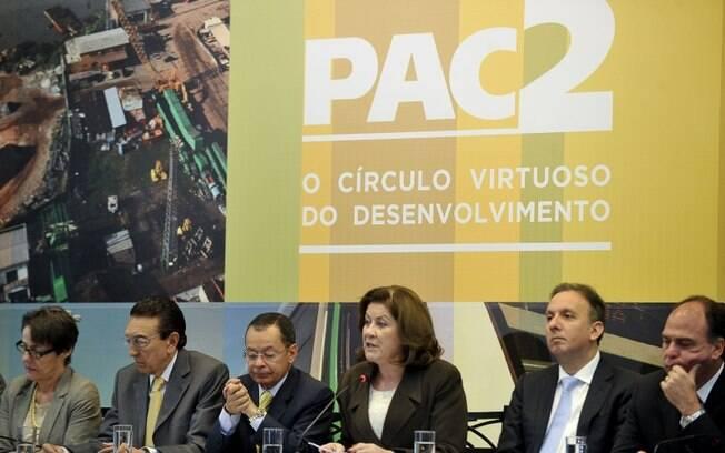 Lançado em 2007, PAC foi a principal vitrine do ex-presidente Lula para promover a então ministra Dilma Rousseff