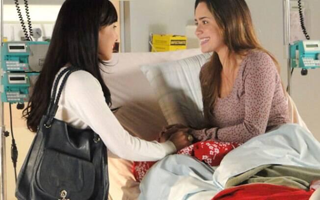 Irmãs fazem as pazes e Ana diz que irá recomeçar sua vida