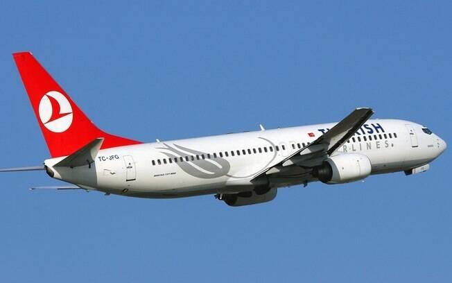 Avião da companhia aérea Turkish Airlines precisou ser desviado devido a ameaça de bomba