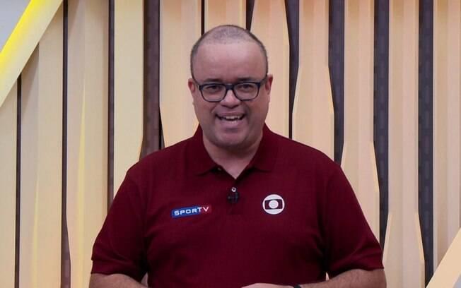Everaldo Marques confundiu o SporTV com sua antiga emissora