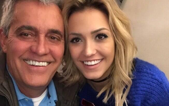Mauro Naves e a filha Raissa Naves