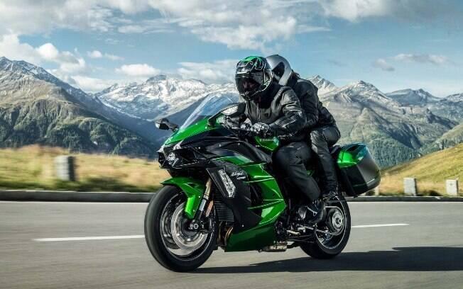 Kawasaki Ninja H2 SX SE: versão mais confortável, voltada para as estradas, da moto mais veloz do mundo