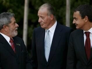 Em 2008, com o então presidente brasileiro Luiz Inácio Lula da Silva e o primeiro ministro da Espanha, José Luiz Rodriguez Zapatero
