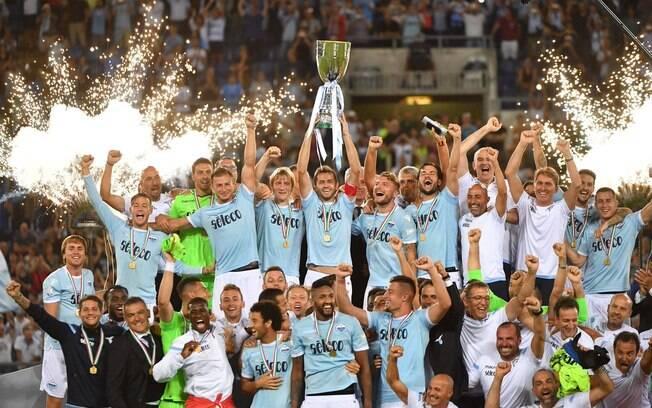 Lazio derrotou a Juventus com gol no fim e foi campeã da Supercopa da Itália pela quarta vez na sua história