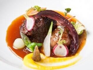 O músculo com tutano do chef paulista Jefferson Rueda é um dos destaques do jantar Sergipe