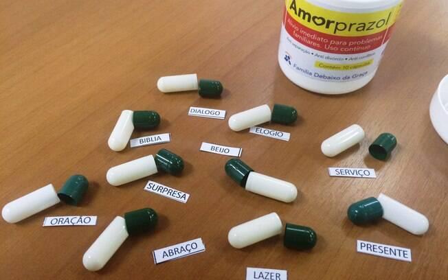 Amorprazol e suas pílulas com os