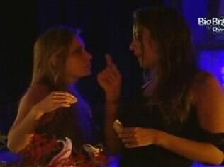 Monique e Renata admitem que ficariam com Rafa e Ronaldo