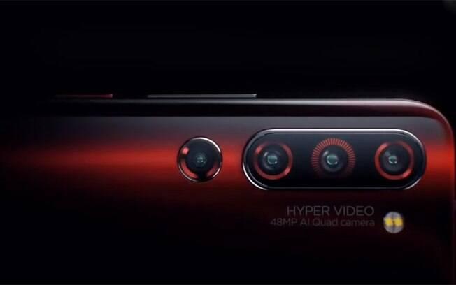 Lenovo Z6 Pro será lançado no dia 23 de abril e terá quatro câmeras traseiras que conseguirão capturar imagens de 100 MP