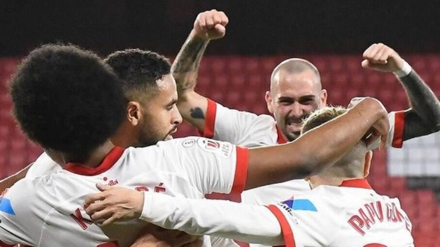 Sevilla vence Barcelona na partida de ida da semifinal da Copa do Rei