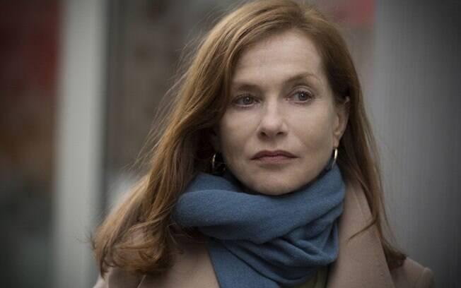 Isabelle Huppert venceu o prêmio de melhor atriz em filme de drama por