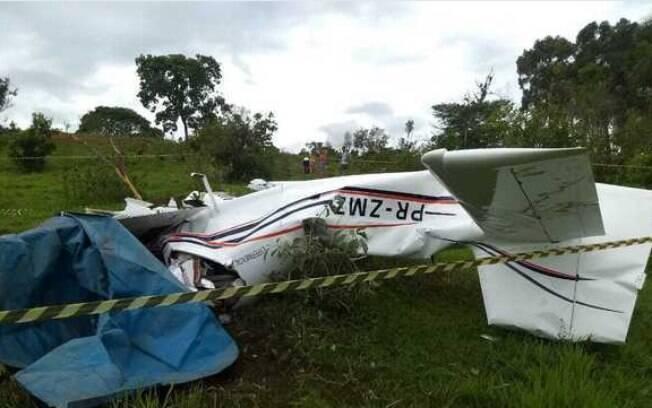 Uma das vítimas da queda de avião era Marcos Chagas, proprietário da aeronave. Documentação do avião estava normal