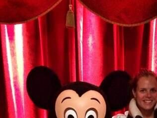 Laure Manaudou recebeu uma punição leve pelo furto dos artigos na Disneyland