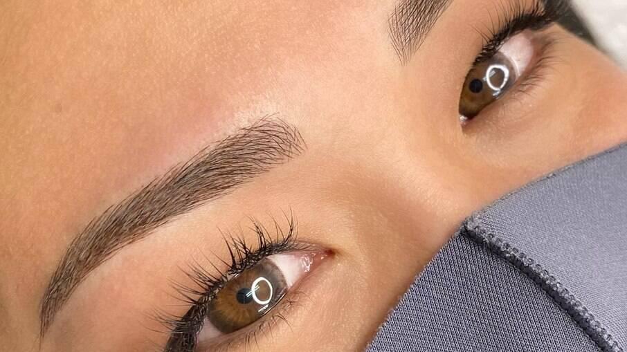 Micropigmentação das sobrancelhas