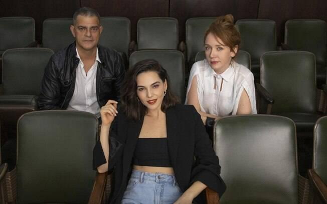Eduardo Moscovis, Camila Morgado e Tainá Müller estrelam nova série da Netflix