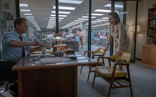Tom Hanks e Meryl Streep em cena de