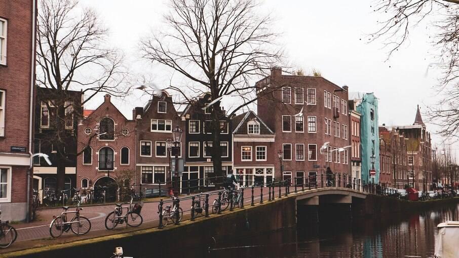 Cidade na Holanda