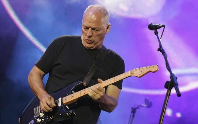 David Gilmour, do Pink Floyd, também torce  pelo Arsenal