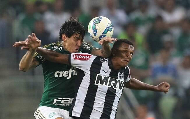 Confronto entre Palmeiras e Atlético-MG será