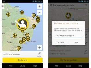 Gratuito para Android e iOS, 99Taxis é aplicativo de solicitação de táxi presente em mais de 300 cidades do país