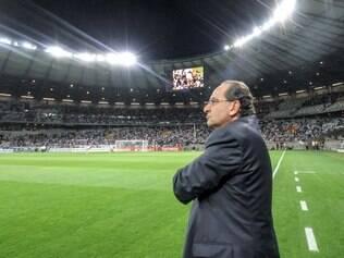 Galo, de Alexandre Kalil (foto), enfrentará o Corinthians, pelas quartas de final da Copa do Brasil, no Mineirão