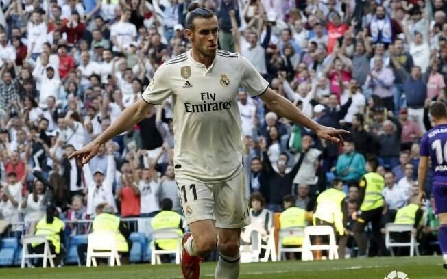 Bale fez o segundo gol do Real Madrid diante do Celta de Vigo