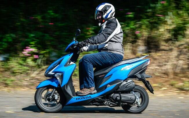 Honda Elite 125 Novo Scooter De Entrada Que Chega Para Dominar