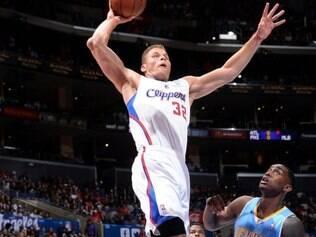 Blake Griffin foi o cestinha do confronto no Staples Center: 24 pontos