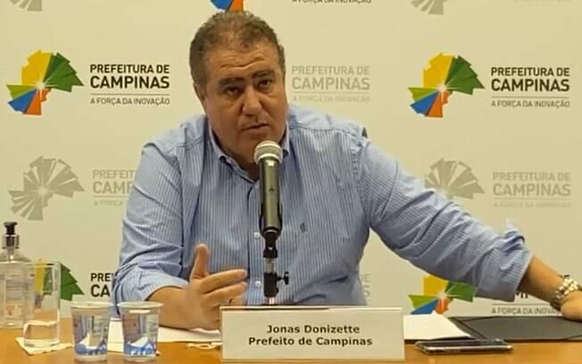 Jonas Donizette comentou regressão de Campinas para a fase amarela.