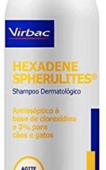 Shampoo antiséptico