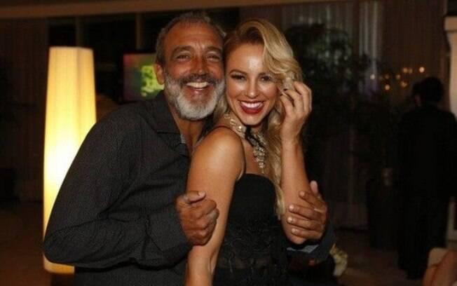 Paolla Oliveira e Rogério Gomes