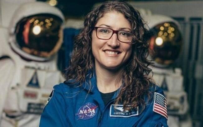 A astronauta Christina Koch já bateu uma série de recordes na Nasa e agora está pronta para bater mais um