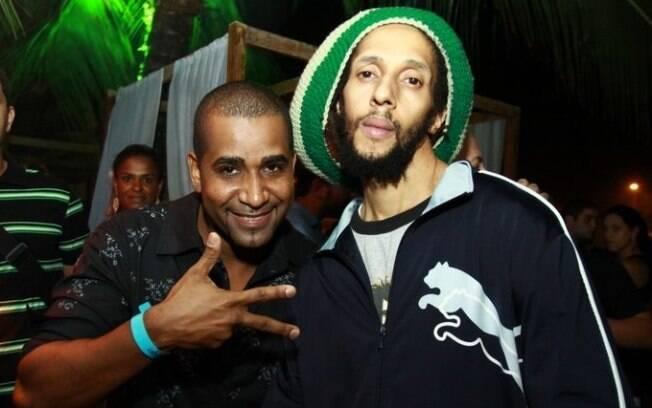 Renatinho da Bahia e Julian Marley