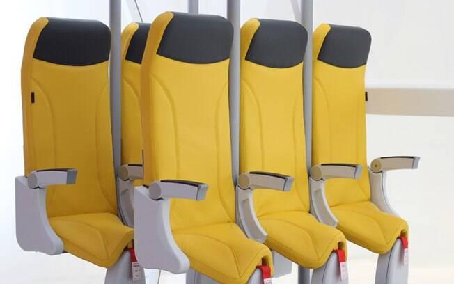 Assentos do projeto Skyrider 2.0 teriam apenas 58 centímetros de espaço para as pernas dos passageiros