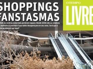 Nos EUA, centros comerciais perderam espaço