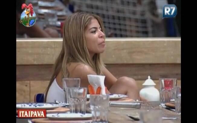 Raquel Pacheco conversa sobre desperdício entre os peões