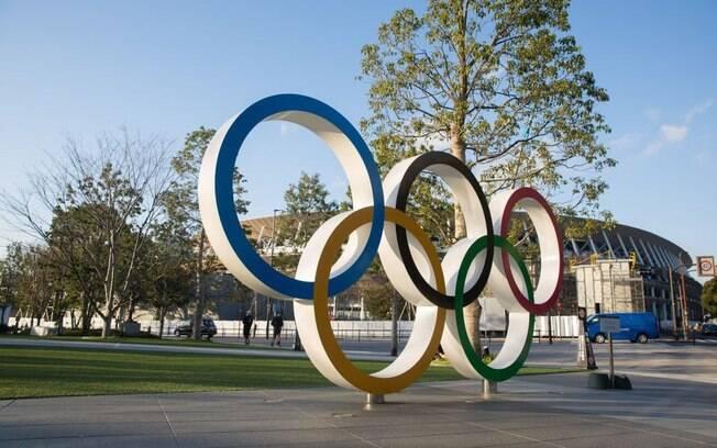 Revezamento da tocha olímpica foi suspenso