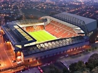 Liverpool divulgou imagens do projeto do estádio após a reforma