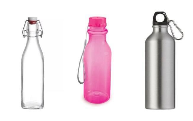 Vidro, plástico ou alumínio: onde é melhor armazenar a água mineral?
