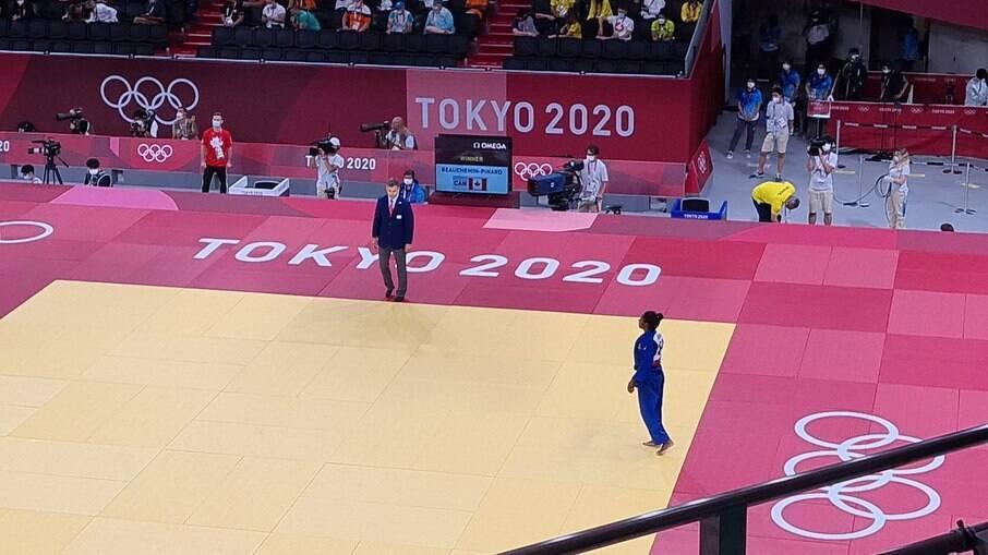 Ketleyn Quadros em ação na Tóquio 2020