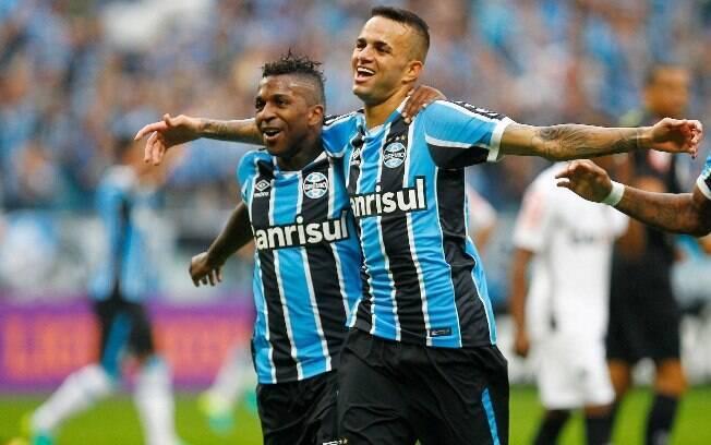 Grêmio foi campeão da Copa do Brasil e sonha com a Libertadores
