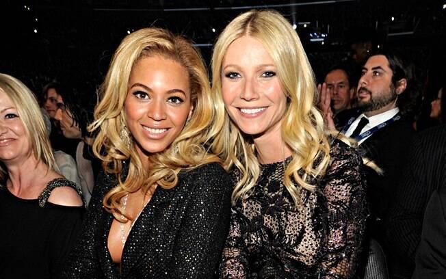 Gwyneth Paltrow comemorou seus 39 anos com a amiga Beyoncé